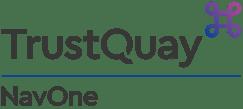 TrustQuay logo NavOne Colour