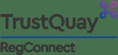 TrustQuay logo RegConnect Colour